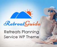 Retreat Guide - Retreats Planning Service WordPress Theme & Template