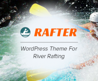 Rafter - River Rafting WordPress Theme