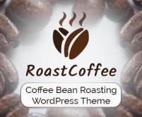 RoastCoffee - Coffee Bean Roasting WordPress Theme