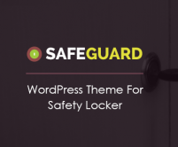 SafeGuard - Safety Locker WordPress Theme
