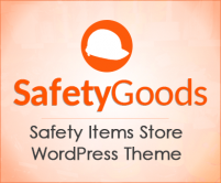 Safety Goods - Safety Items Store Wordpress Theme & Template