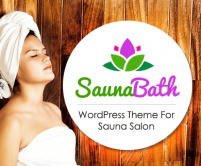 Sauna Bath - Sauna Salon WordPress Theme & Template
