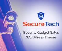 SecureTech - Security & Spyware Gadget Sales WordPress Theme