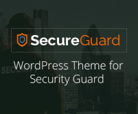 SecureGuard - Security Guard WordPress Theme
