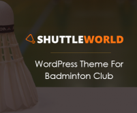 ShuttleWorld - Badminton WordPress Theme