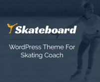 SkateBoard - Skating Coach WordPress Theme