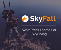 SkyFall - SkyDiving WordPress Theme