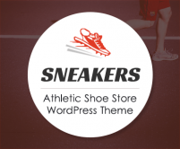 Sneakers - Athletic Shoe Store WordPress Theme