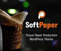 SoftPaper - Tissue Paper Production WordPress Theme