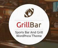 GrillBar - Sports Bar And Grill WordPress Theme