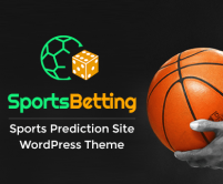 Sports Betting - Sports Prediction Site WordPress Theme & Template