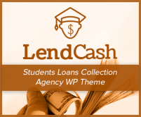 Lend Cash - Students Loans Collection Agency WordPress Theme & Template