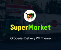 SuperMarket - Groceries Product Selling & Delivery WordPress Theme