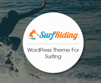 SurfRiding - Surfing WordPress Theme