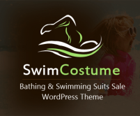 Swim Costume - Bathing And Swimming Suits Sale WordPress Theme & Template