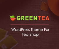 GreenTea - Tea Shop WordPress Theme