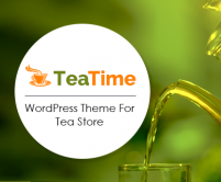 TeaTime - Tea Store WordPress Theme