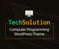 TechSolution - Computer Programming Institute WordPress Theme