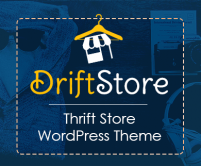 DriftStore - Thrift Store WordPress Theme