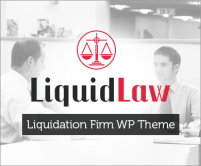 LiquidLaw - Liquidation Firm WordPress Theme