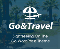 Go & Travel - Sightseeing On The Go WordPress Theme & Template