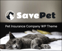 SavePet - Pet Insurance Company WordPress Theme