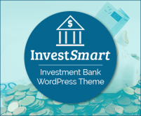 InvestSmart - Investment Bank WordPress Theme