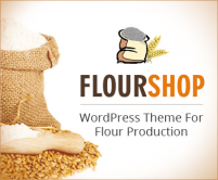 FlourShop - Flour Production WordPress Theme