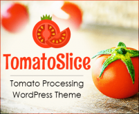 TomatoSlice - Tomato Processing WordPress Theme