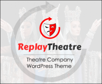 ReplayTheatre - Theatre Company WordPress Theme