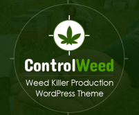 Control Weed - Weed Killer Production WordPress Theme & Template
