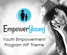 Empower Young - Youth Empowerment Program WordPress Theme & Template