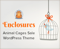 Enclosures - Animal Cages Sale WordPress Theme & Template