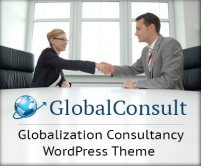 GlobalConsult - Globalization Consultancy WordPress Theme & Template