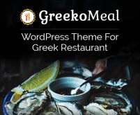 GreekoMeal - Greek Restaurant WordPress Theme