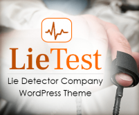 Lie Test - Lie Detector Company WordPress Theme And Template