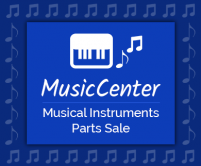 MusicCenter - Musical Instruments Parts Sale WordPress Theme And Template
