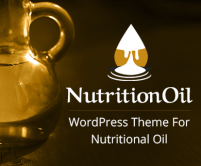NutritionOil - Palm / Groundnut / Coconut Oil Production WordPress Theme