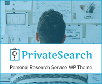 Private Search - Personal Research Service WordPress Theme & Template
