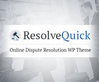 ResolveQuick - Online Judge Dispute Resolution WordPress Theme