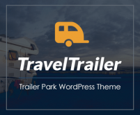 TravelTrailer - Trailer Park WordPress Theme