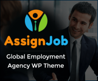 Assign Job - Global Employment And Recruitment Agency WordPress Theme & Template