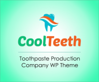 CoolTeeth - Toothpaste Production Company WordPress Theme