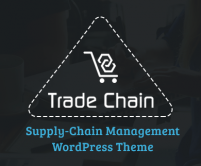 TradeChain - Supply-Chain Management WordPress Theme