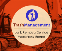 TrashManagement - Junk Removal Service WordPress Theme