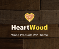 HeartWood - Wood Products WordPress Theme
