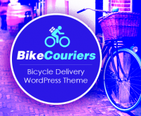 BikeCouriers - Bicycle Courier Delivery WordPress Theme