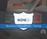 Twitter Bootstrap Built WordPress Business Theme
