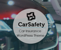 CarSafety - Car Insurance Policy WordPress Theme