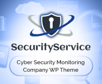 SecurityServices - Cyber Security Monitoring Company WordPress Theme